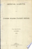Official Gazette of the United States Patent Office Book PDF