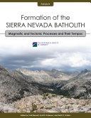 Formation of the Sierra Nevada Batholith Pdf/ePub eBook