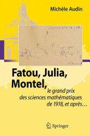 Pdf Fatou, Julia, Montel, Telecharger