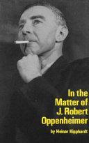 In the Matter of J. Robert Oppenheim