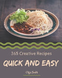 365 Creative Quick And Easy Recipes