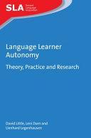 Language Learner Autonomy
