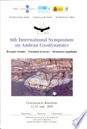 6th International Symposium on Andean Geodynamics