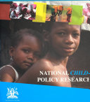 National Child Focused Policy Research Agenda 2016 2020
