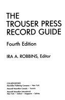 Pdf The Trouser Press Record Guide