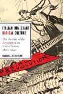 Italian Immigrant Radical Culture Pdf/ePub eBook