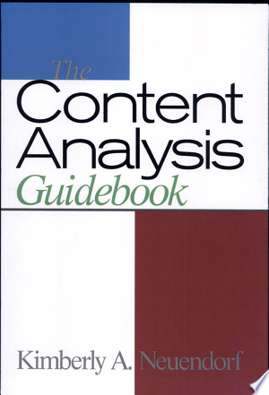 Download The Content Analysis Guidebook Free Books - Dlebooks.net