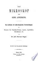 Das Mikroskop und seine Anwendung