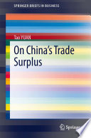 On China s Trade Surplus Book