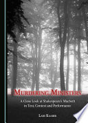 Murdering Ministers Book