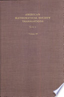 American Mathematical Society Translations