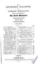 The Edinburgh Magazine and Literary Miscellany