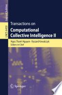 Transactions on Computational Collective Intelligence II