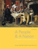 A People and a Nation  A History of the United States Book PDF
