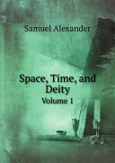 Space, Time, and Deity