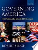 Governing America Book