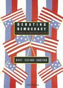 Debating Democracy Book PDF