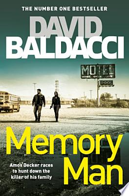Book cover of 'Memory Man' by David Baldacci