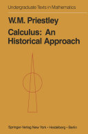 Calculus: A Historical Approach