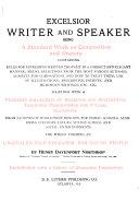 Excelsior Writer and Speaker