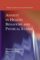 Anxiety in Health Behaviors and Physical Illness Pdf/ePub eBook