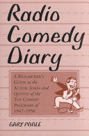 Radio Comedy Diary ebook