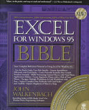Excel for Windows 95 bible