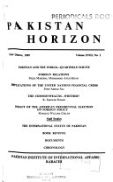 Pakistan Horizon