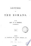 Lectures on the Romans