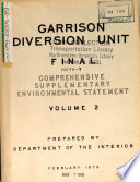 Garrision Diversion Unit Irrigation Project Prospects And Problems Part1 [Pdf/ePub] eBook