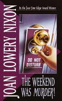 The Weekend Was Murder [Pdf/ePub] eBook