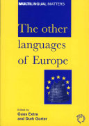 Pdf The Other Languages of Europe