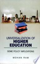 Universalization Of Higher Education