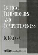 Critical Technologies and Competitiveness