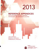 2013 Reference Appendices