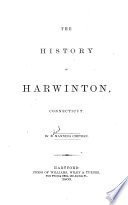 The History Of Harwinton Connecticut