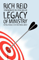 Legacy of Ministry