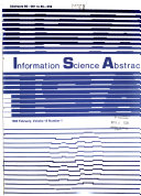 Information Science Abstracts