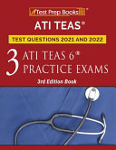 ATI TEAS Test Prep Questions 2021 and 2022 Book
