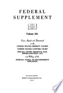 Federal supplement. [First Series.]