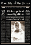 Philosophical Investigations from the Sanctity of the Press