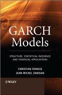 GARCH Models
