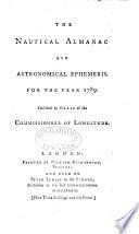 The Nautical Almanac And Astronomical Ephemeris For The Year  Book PDF