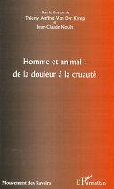Pdf Homme et animal : de la douleur à la cruauté Telecharger