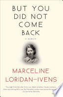 But You Did Not Come Back Book PDF