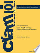 Exam Prep for Bundle; Exploring Marketing Research ...