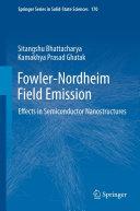 Pdf Fowler-Nordheim Field Emission Telecharger