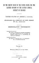 United States of America Vs. Standard Oil Company, and Others