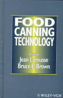 Food Canning Technology Book