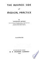 The business side of medical practice